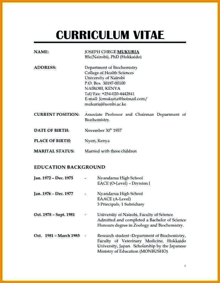 Image result for normal resume format d Resume format, Resume