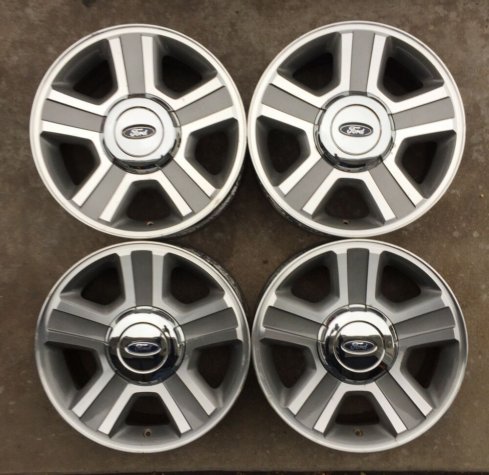 Set Of Four 17 Ford F150 Wheels Rims Original Alloy Oem 3554a Ford Wheel Rims Wheel F150