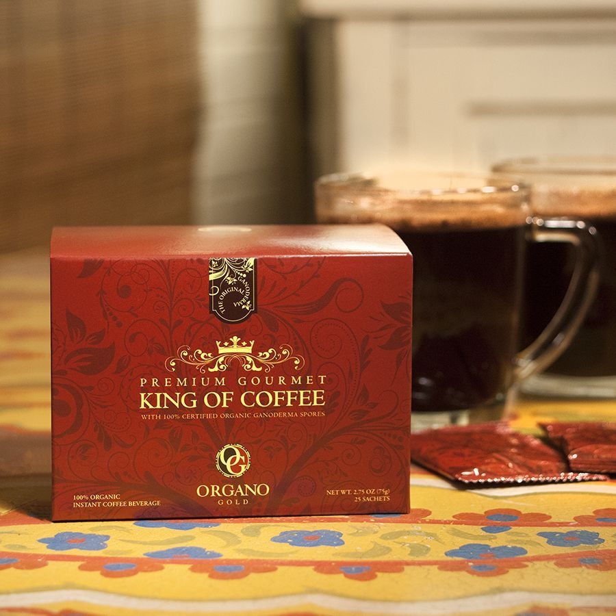 Organo Gold King Of Coffee $48.50   Trump National Golf Course ...