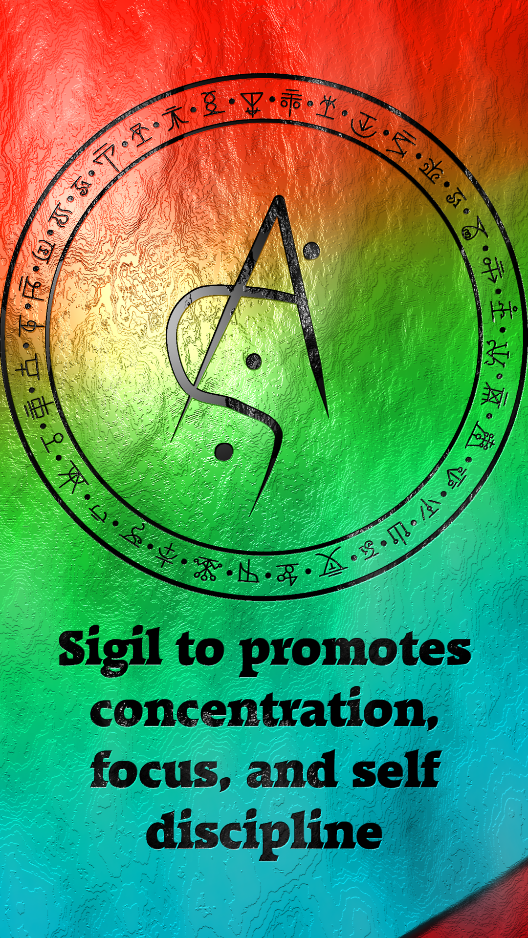 Sigil to promotes concentration, focus, and self discipli