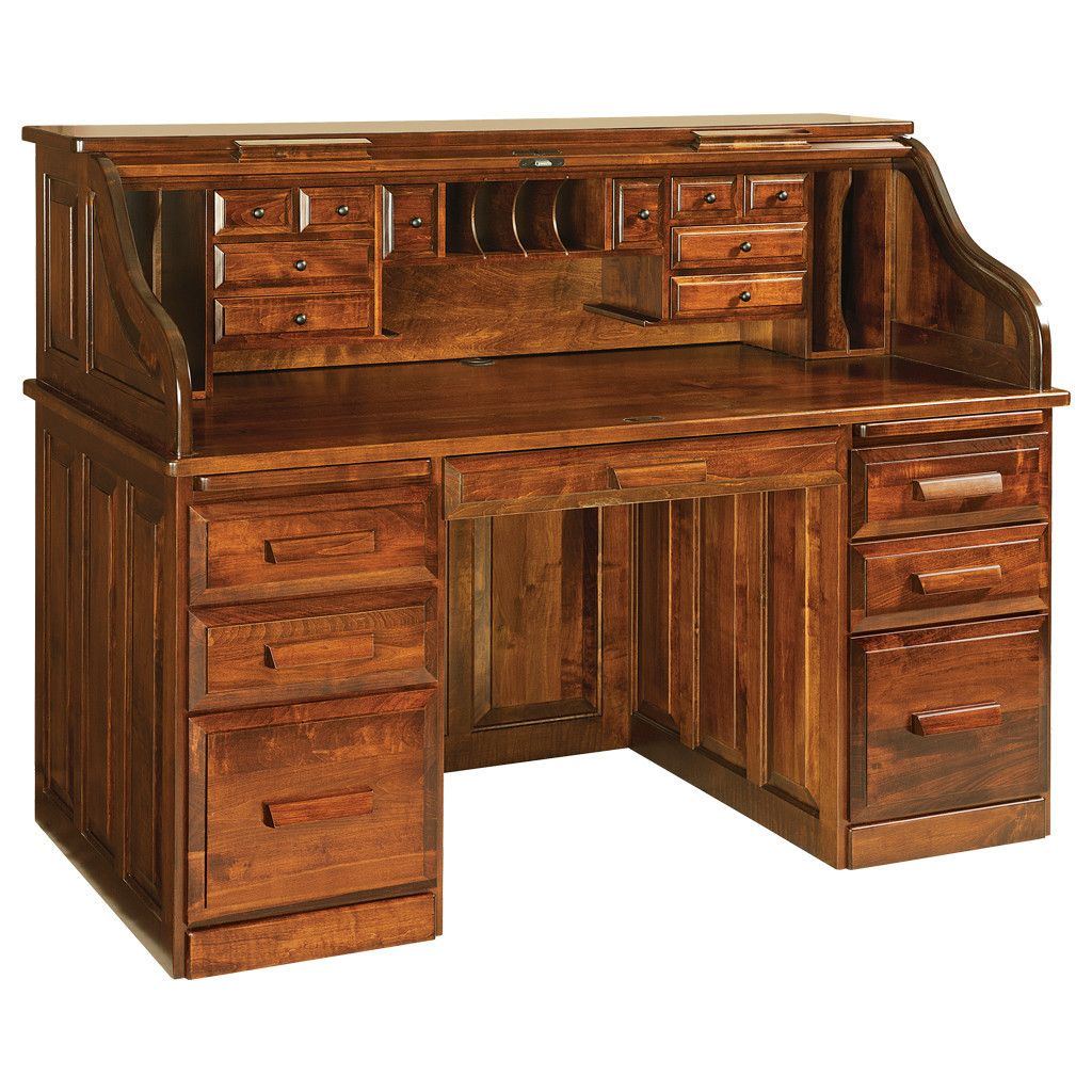 Amish Roll Top Desk Woodworking Desk Plans Roll Top Desk Bookcase Woodworking Plans