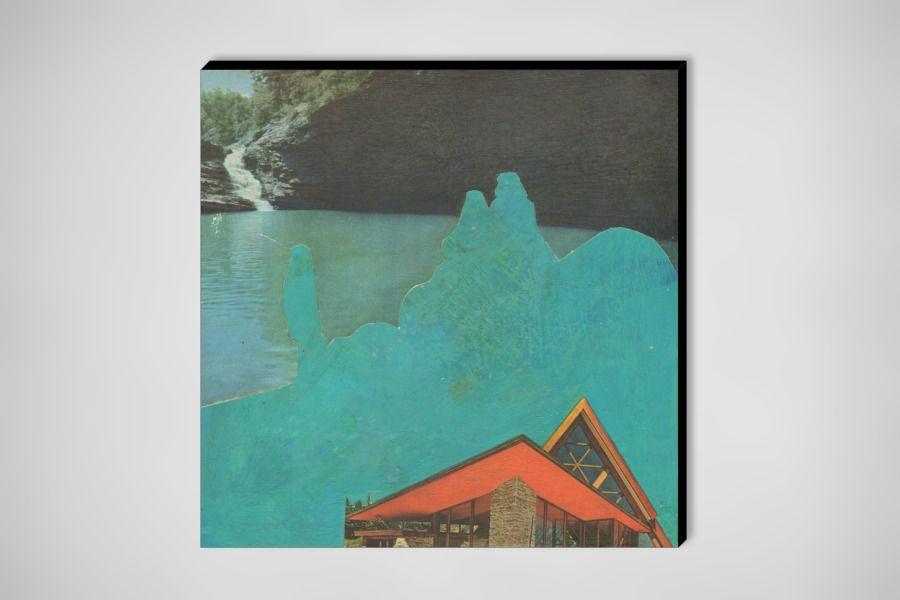 """Saatchi Online Artist: Brandi Strickland; Assemblage / Collage, 2009, Mixed Media """"In A Dream"""""""