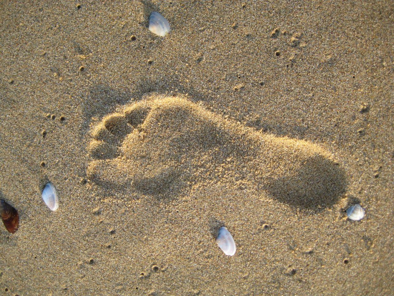 Footprint On The Black Sea