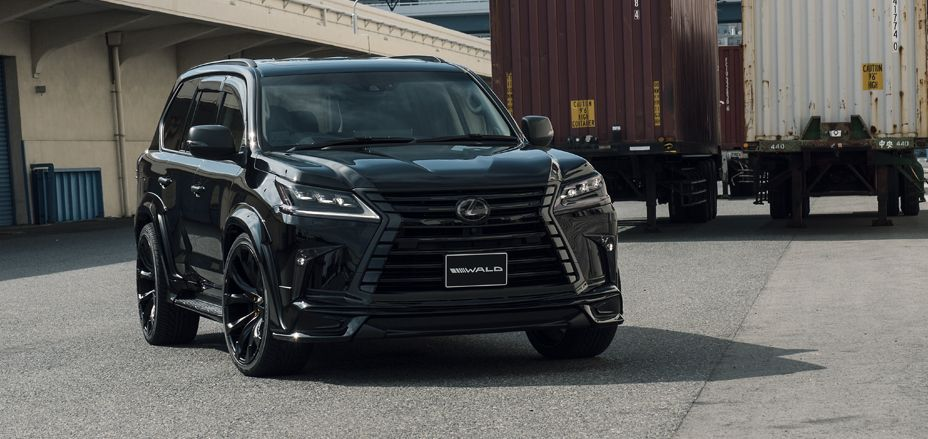 Wald Lexus Lx 570 Is Murdered Out Transport Me Lexus Truck