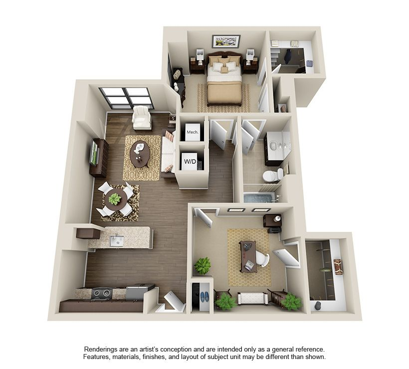 Pin By Shanaialb On 1 Bedroom Apartment Sims House Plans Apartment Floor Plans House Plans