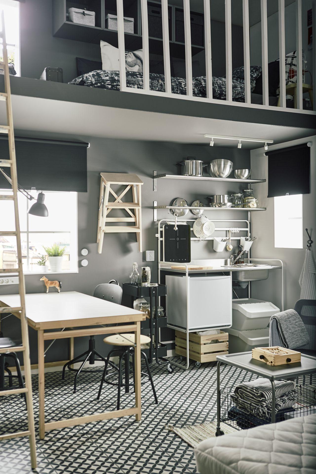 SUNNERSTA le da a tu cocina un aire industrial.   Cocinas ...