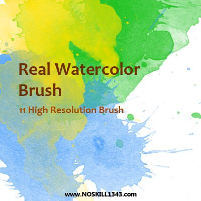 Watercolor Photoshop Brushes By Noskill1343 On Deviantart