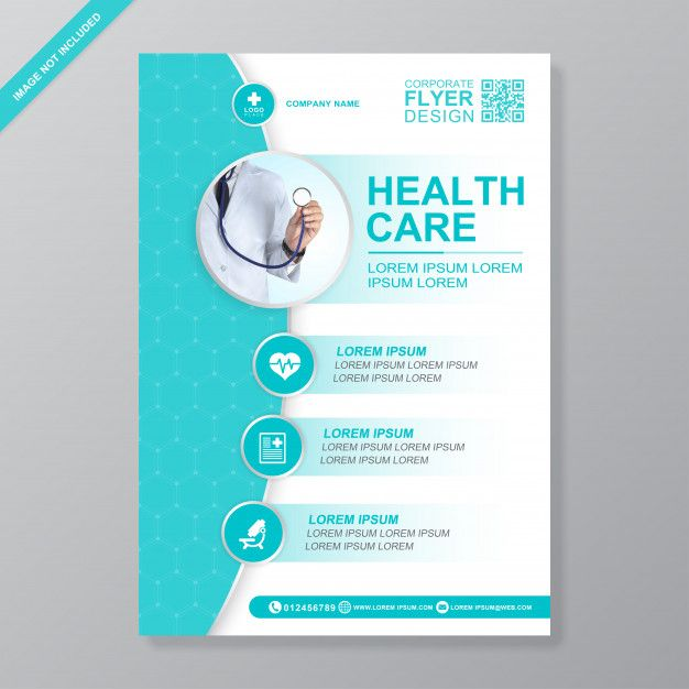 Modele De Conception De Flyer A4 De Couverture Medicale Et De Soins De Sante Pour L Impression Graphic Templates Search Engine