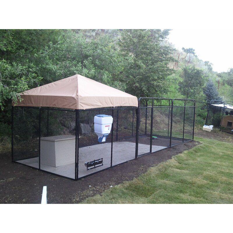 Brendan expanded metal yard kennel in 2020 dog house diy