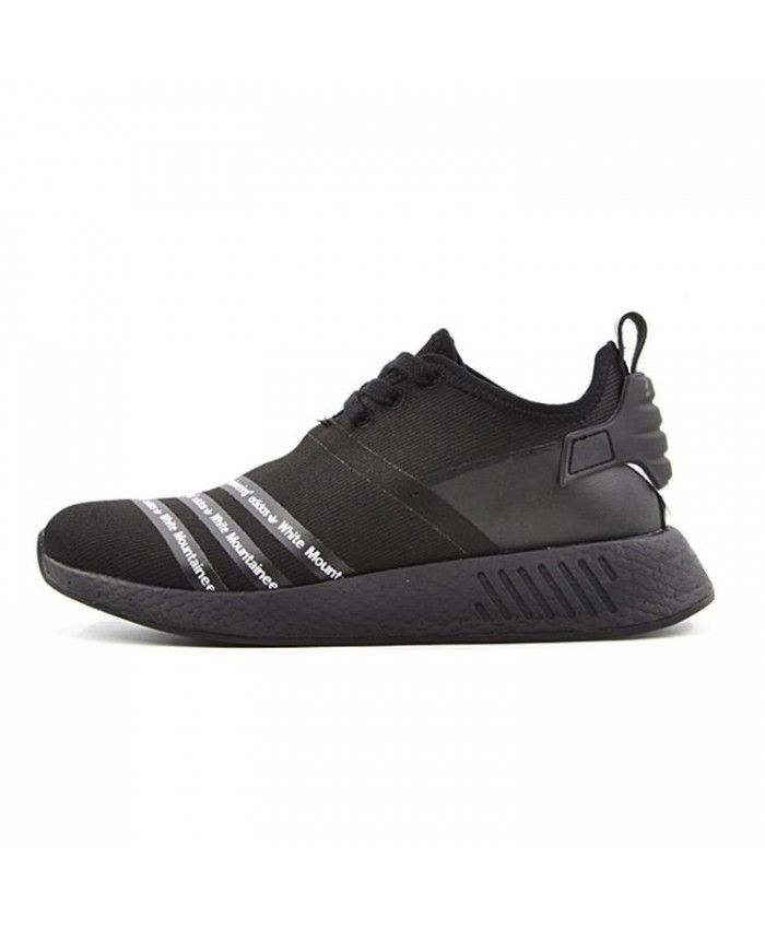 Homme Adidas Originals x Blanc Alpinisme NMD Boost Tous Noir