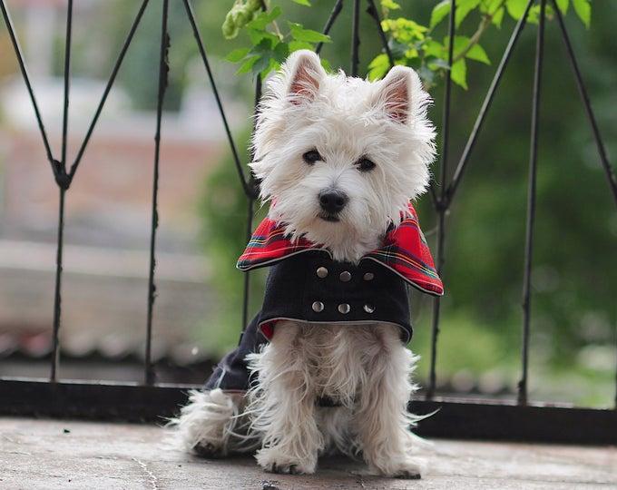 Handmade Custom Tartan Westie Clothes And Dog By Bestdograincoats Westie Dogs Westies Westie Puppies