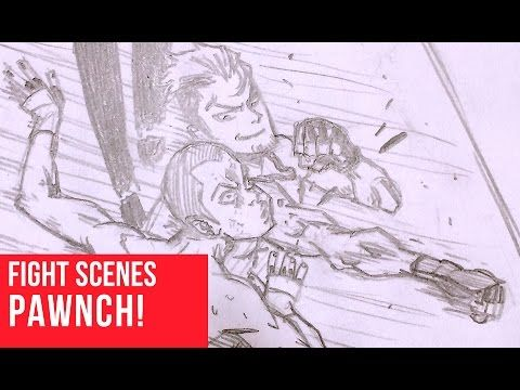 How To Draw Fight Scenes Punch Impact Anime Fight Drawings Character Illustration