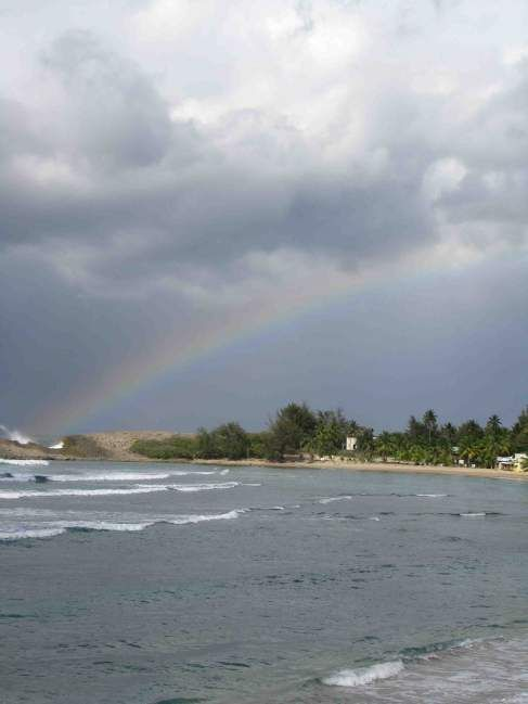 Rainbow in Puerto Rico