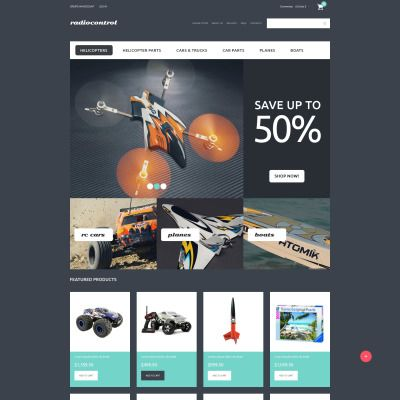 RC Toys VirtueMart Template   Toys, Template and Rc toy