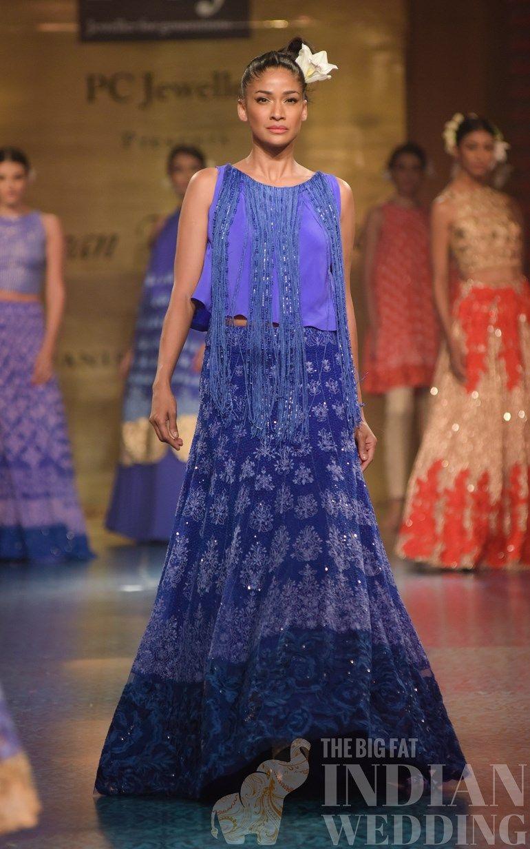 0c436ef2e9e0 Manish Malhotra s Spring Collection At Mijwan Fashion Show