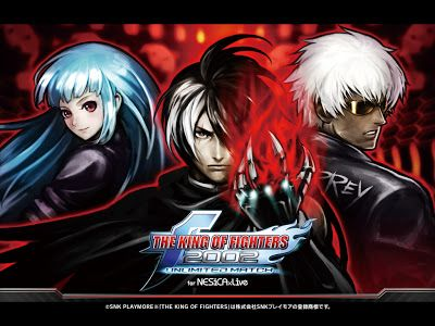 King Of Fighters 2002 Unlimited Match Wallpaper Kof Videojuegos