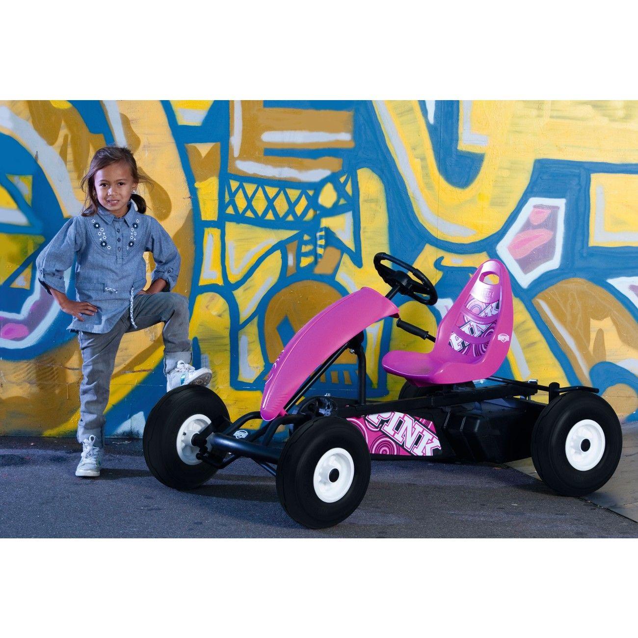 Polkuauto BERG Compact Pink - Polkuautot ja varusteet - Polkuautot - Acon.fi