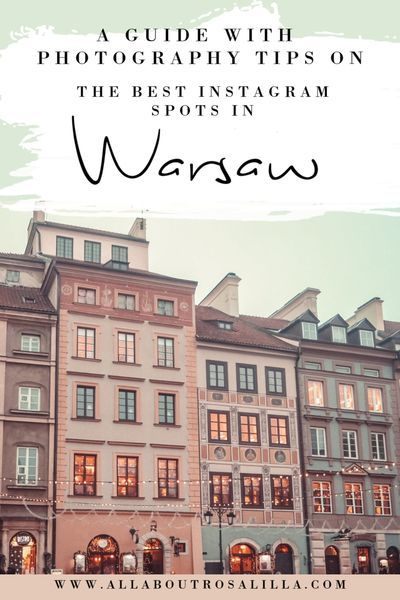 Warsaw, Poland is one of Europe's gems. Think pastel buildings, cute alleyways, amazing coffee and the most delicious rose-jam donuts. Not only that but it is full of the most beautiful places that will bring your Instagram to the next level. Warsaw   Warsaw Poland   Instagram Spots   Warsaw Photography   Best Instagram Spots Warsaw   Things to do in Warsaw   Best Cities in Europe   Warsaw Poland Best Things To Do   Warsaw Poland Photography