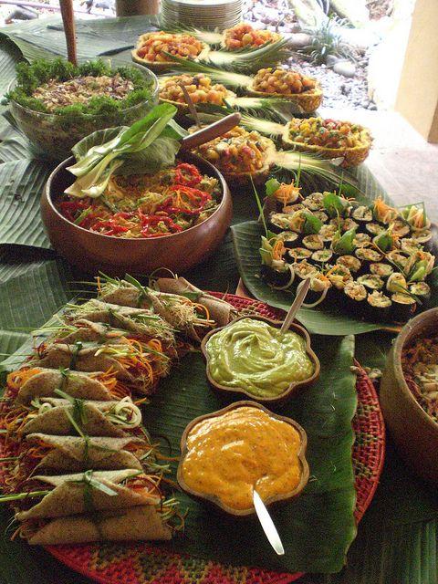 Wedding Raw Gourmet Buffet Raw Vegan Lifestyle In 2019