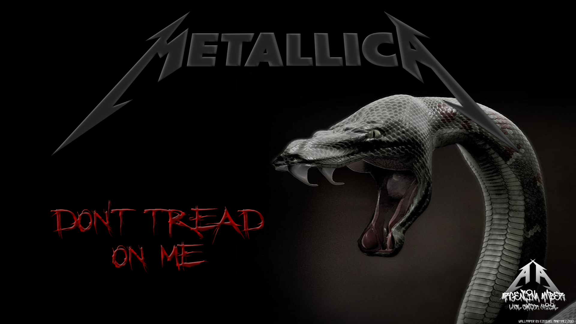 Metallica Wallpapers High Definition Profile Wallpaper Snake Wallpaper Animal Wallpaper Dark Wallpaper