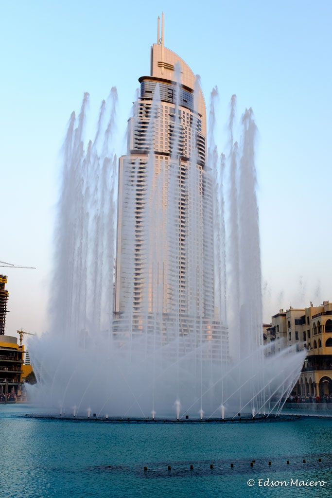 Dubai Fountain: show diurno