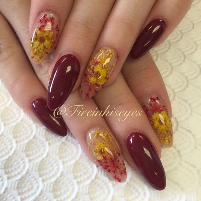 fireinhiseyes | Nails | Pinterest | Diseños de uñas, Naturaleza ...