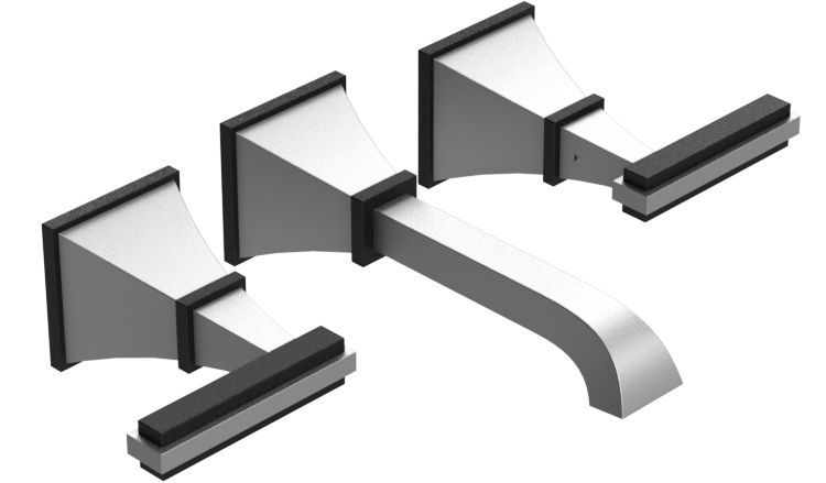 stylish wall mount bath faucet by rubinet matthew quinn collection - Matthew Quinn Collection