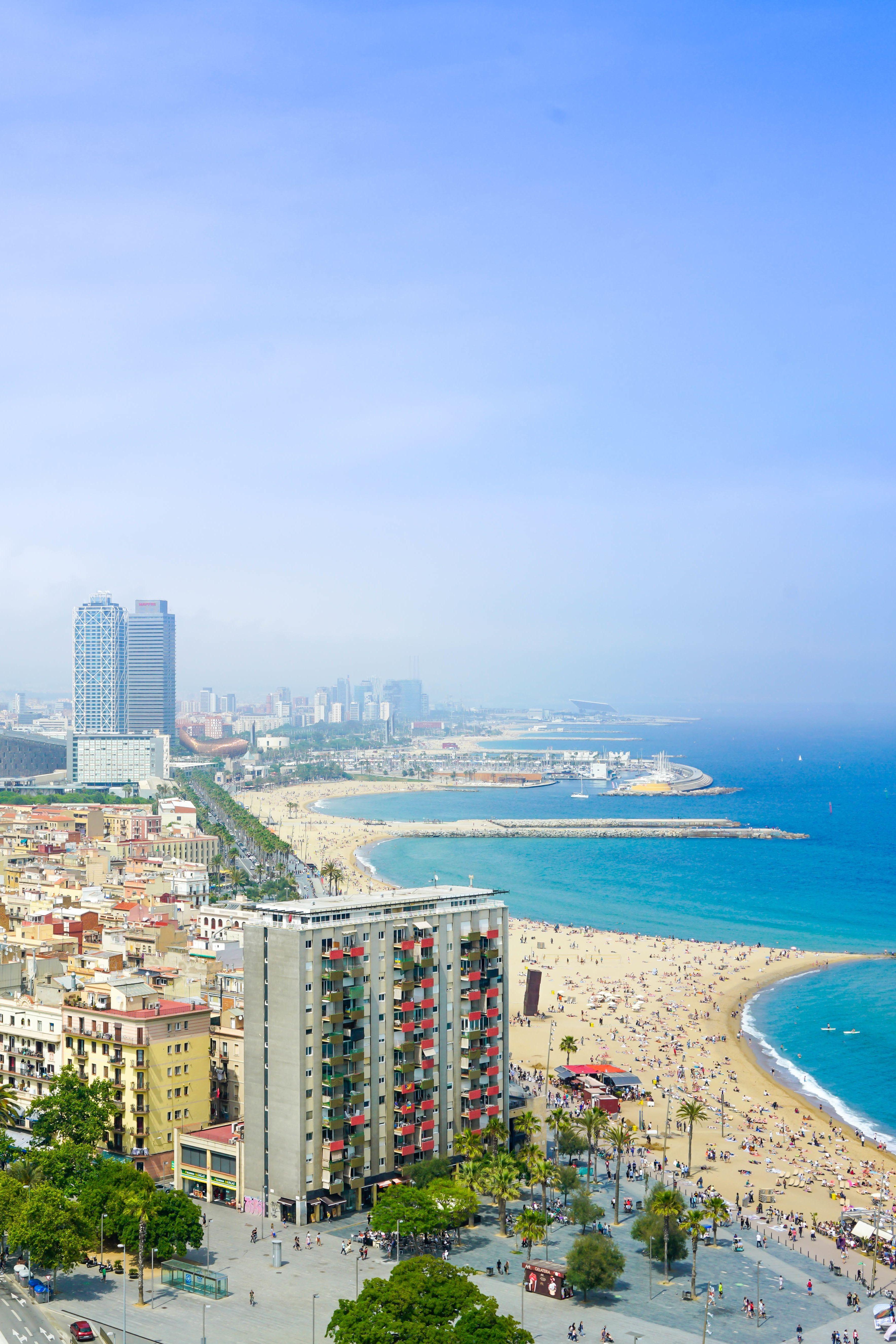 Ein Muss bei einem #Städtetrip nach #Barcelona: ein Strandbesuch!