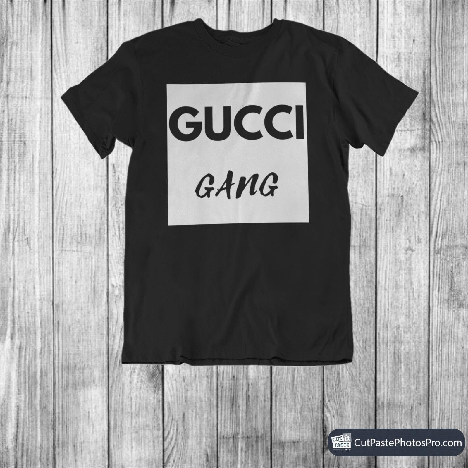 73a58d61 Gucci Gang - Vintage Gucci - Gucci Tshirt - Gucci Inspired - Womens Tshirt  - Mens Tshirt - Designer Inspired - Gucci Gang Unisex Tee