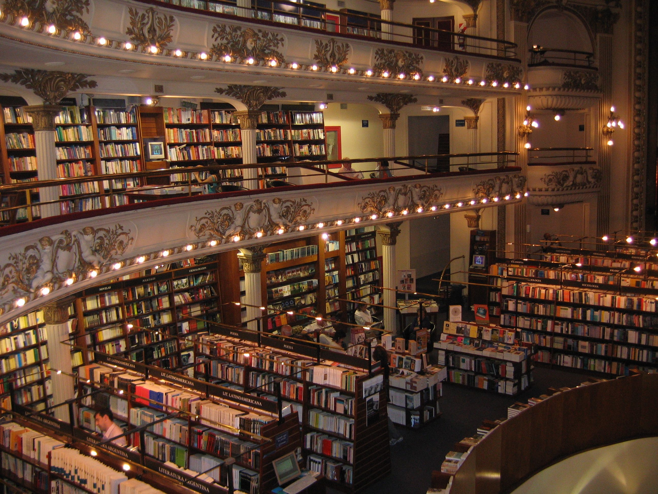 Awesome Bookstores Around The World Remembering English Bookstore World Around The Worlds