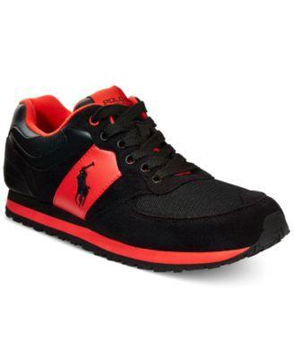 Polo Ralph Lauren Slaton Pony Sneakers - All Men\u0027s Shoes - Men - Macy\u0027s