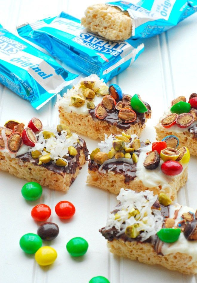 Plan a fun Girls Night In with these Rice Krispie Treat Kreations!