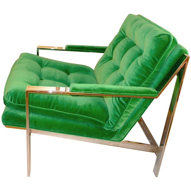 Ordinaire Cy Mann Chrome Lounge Chair