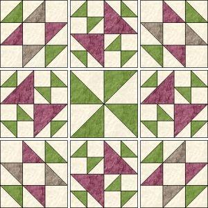 myQuiltGenie Blog: Old Maid's Puzzle quilt - part 3