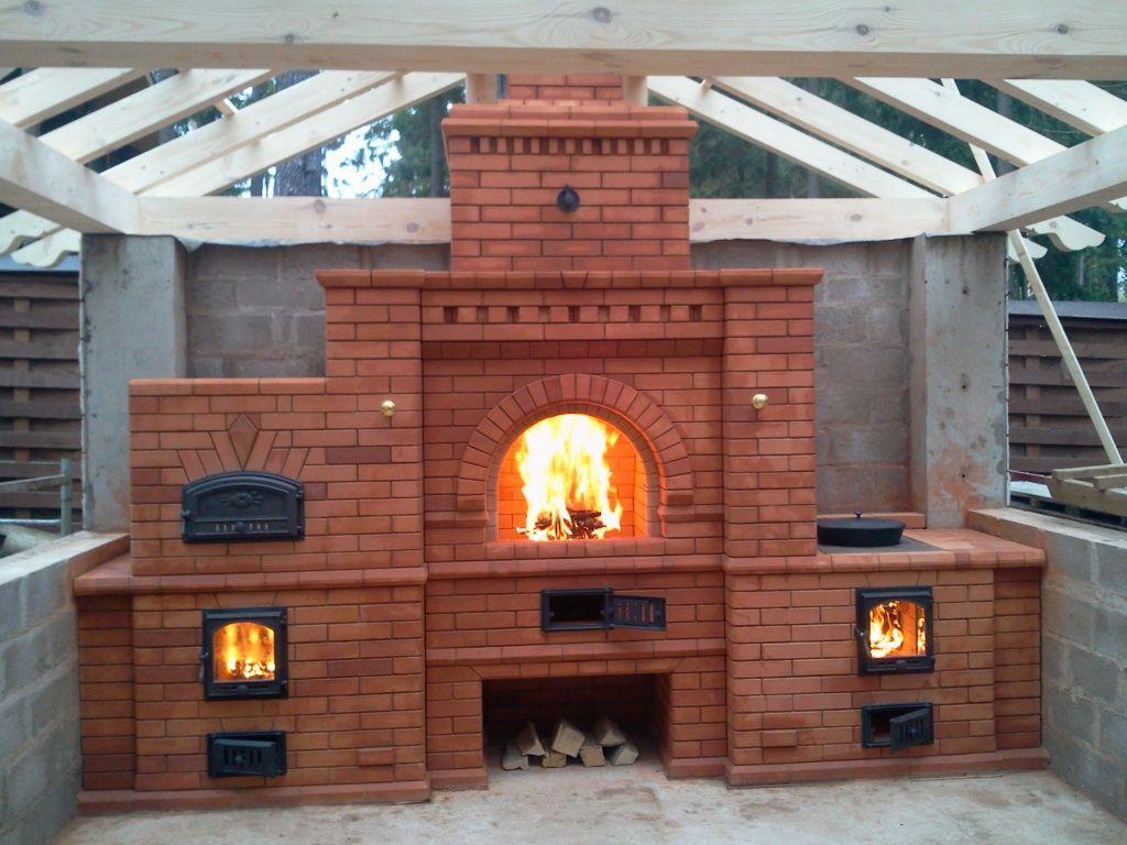 Печи для беседки фото barbecue pinterest oven outdoor living
