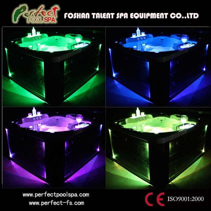 4 person jacuzzi hot tub | China 4 Person Acrylic Hot Tub (Thetis) - large image for Outdoor Spa
