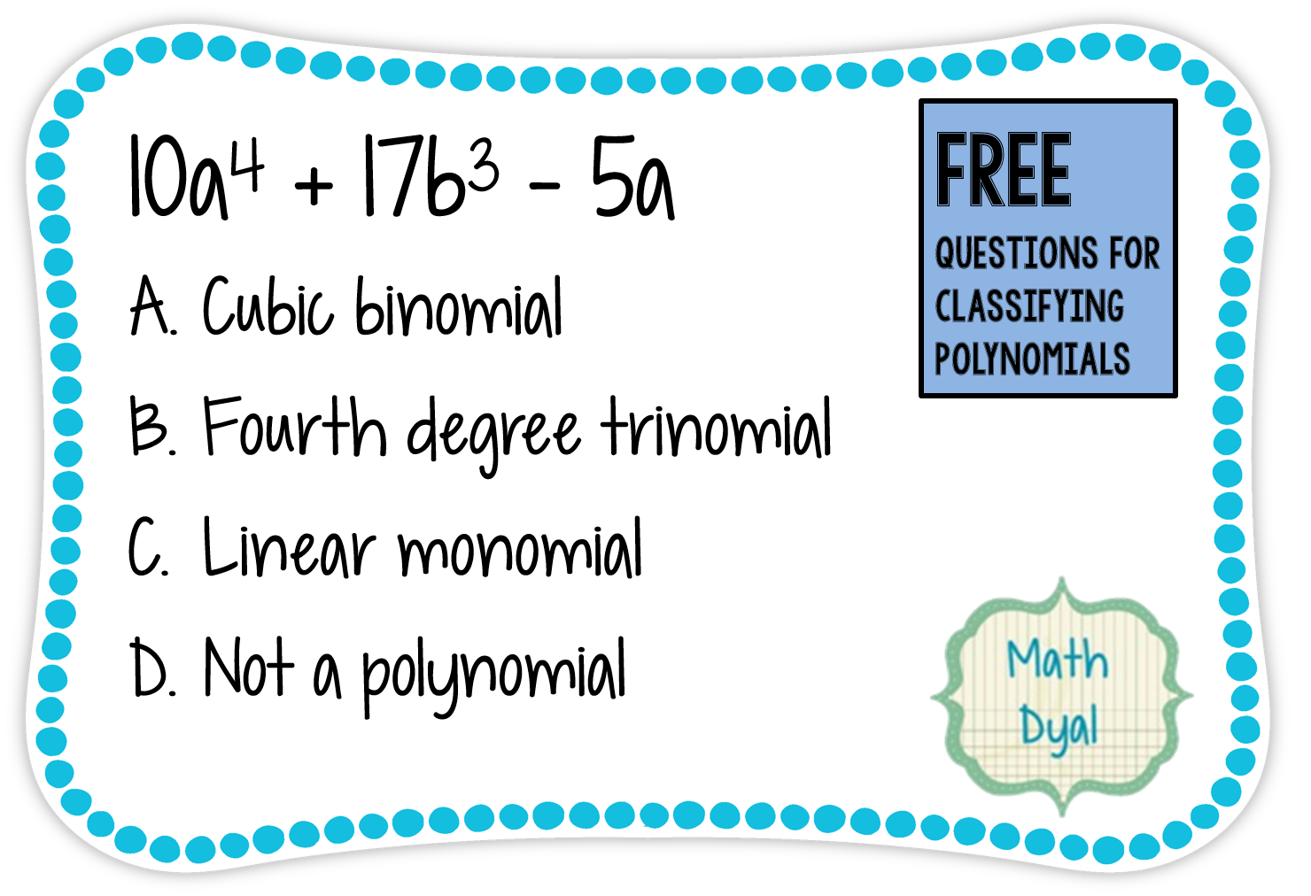 Free Multiple Choice Questions And Notes For Classifying
