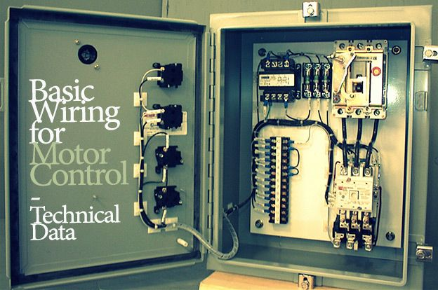 basic wiring for motor control technical data library acirc ee basic wiring for motor control technical data