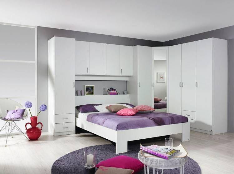 Schlafzimmer Bett Mit überbau   Schlafzimmer set ...