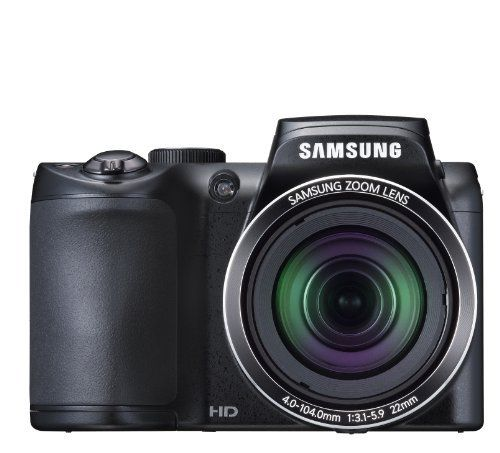 Samsung Wb100 16mp 26x Optical Zoom Black Digital Camera By