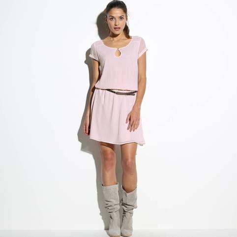 SuissesÊtre Basse Femme Fluide Taille Robe 3 5Rj34AL