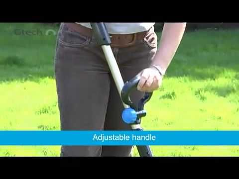 Watch this video to see the Gtech ST05 Cordless Grass Trimmer and ...