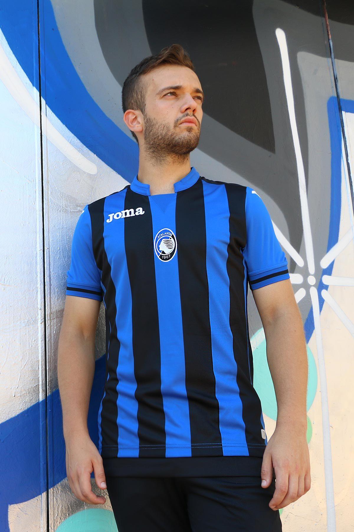 cc7994fd5b9f6 Camiseta primera equipación Joma Atalanta 2018 - 2019 - azul y negra  Encuentra ésta camiseta y
