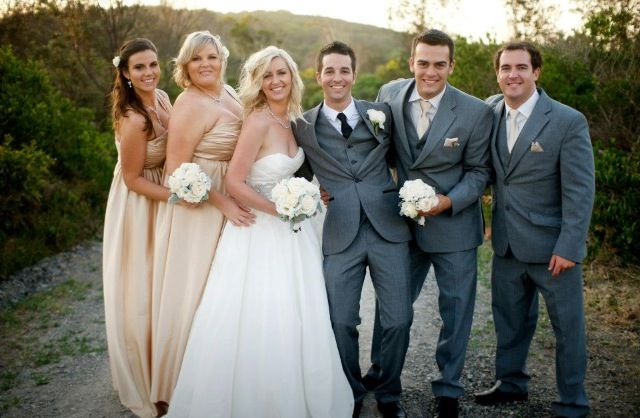 Our Amazing Friends Champagne Satin Bridesmaid Dresses For The