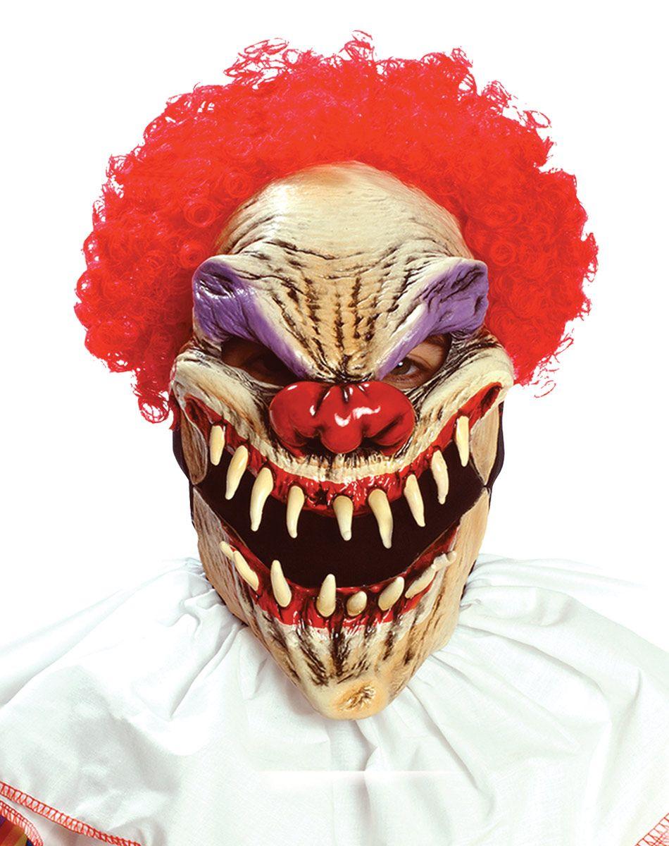 Last Laugh Clown Mask. | Who Let The Clowns Out? | Pinterest ...