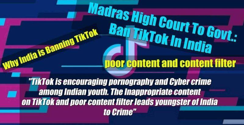Tiktok Ban In India Why India Is Banning Tiktok Tik Tok Respond Comedy Clips Movie Dialogues India