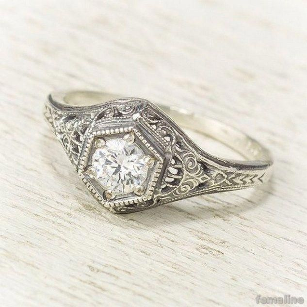 Antique Diamond Rings Cheap Diamond Rings Vintage In 2019