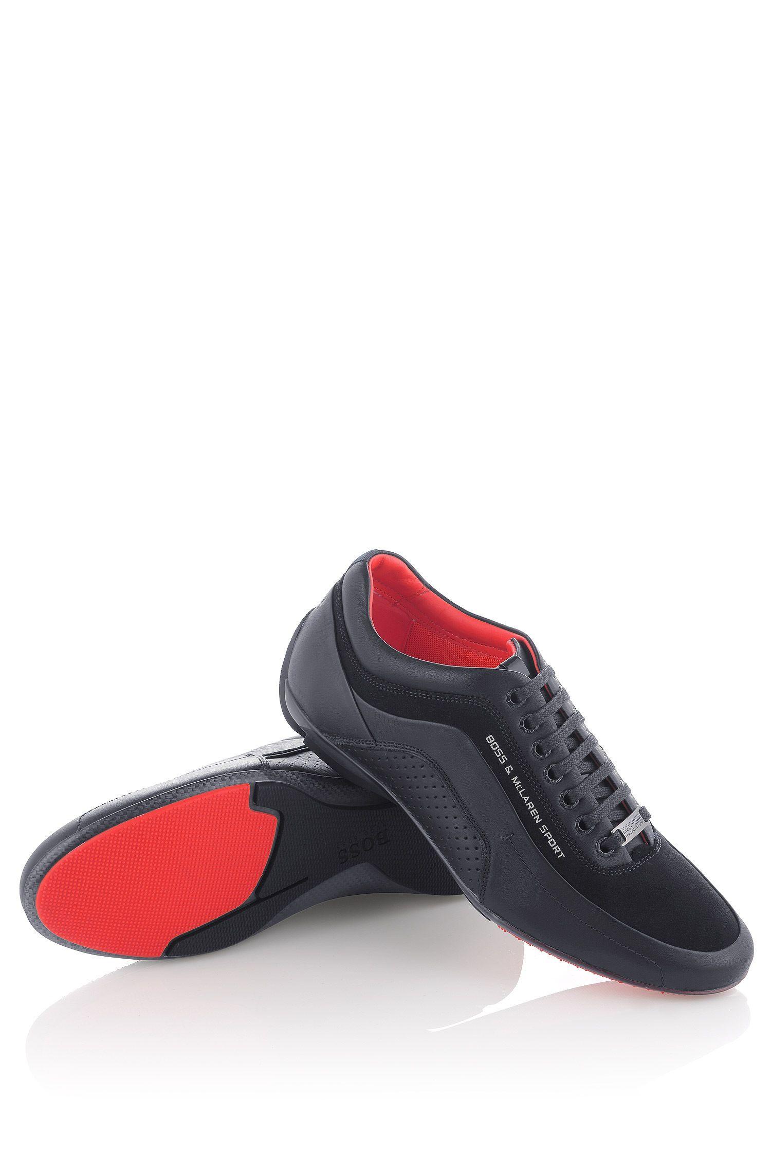 new products 8adef cc6ec BOSS Sneakers 'Larenno' uit de McLaren-collectie Donkerblauw ...
