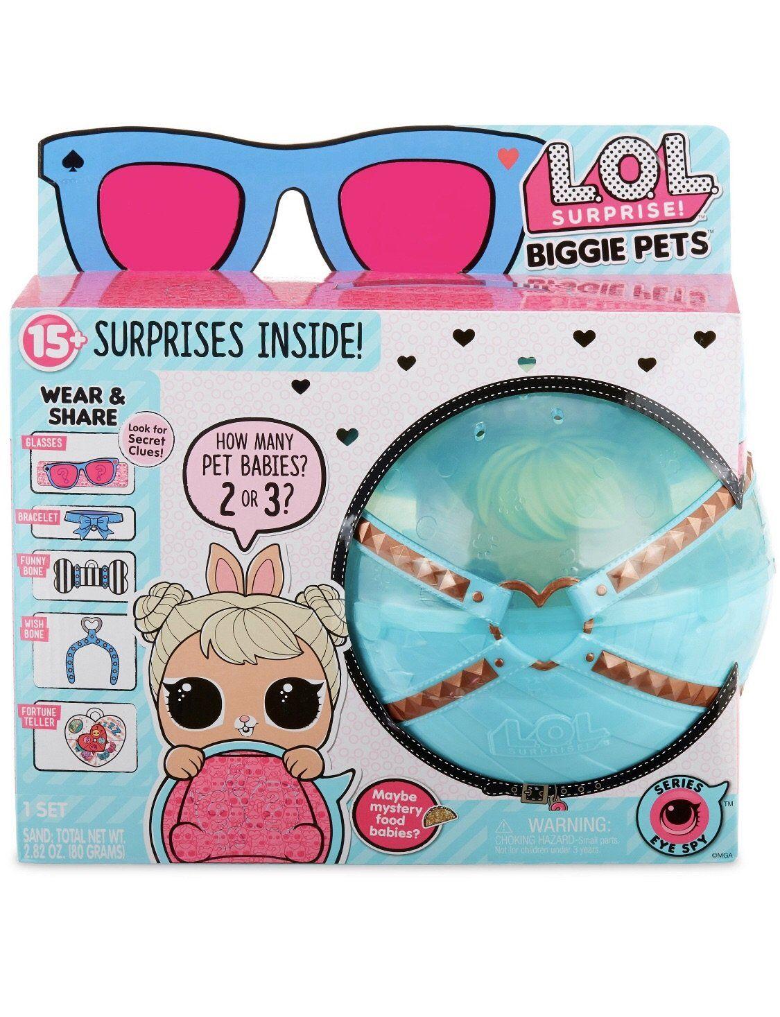 LOL Surprise Doll BIGGIE PETS DOLLMATION Series 4 Eye Spy