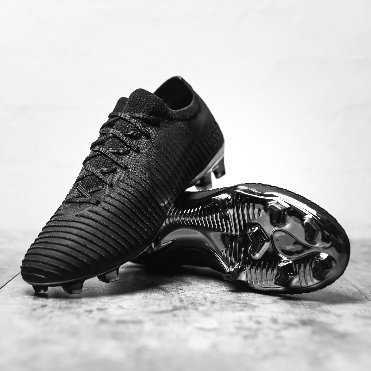 2725d81e1 Meet the Nike Mercurial Vapor Flyknit Ultra Triple-Black